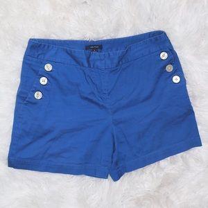 Nautica navy blue shorts, size 6